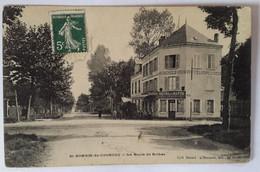 Carte Postale Saint Romain De Colbosc La Route De Bolbee Hôtel Du Havre 1909 - Saint Romain De Colbosc