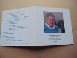 Doodsprentje / Bidprentje    Agnes  Demeiter    Izegem° 1925 - † 2010 Moorsele    Conciërge Jongens- En Muziekschool - Religion & Esotérisme