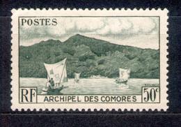 Komoren - Archipel Des Comores 1950 - Michel Nr. 21 O - Neufs