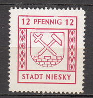 Allemagne - Zone Soviétique - Emission Locale NIESKY - 3 ** - Zona Soviética