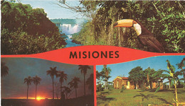 Paraguay Postkaart Misiones Gebruikt (776) - Paraguay