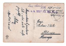 Austria WWI Fox And Rabbits Postcard Posted Feldpost 1916 K.u.k. XIII/53 Ma. Baon FP 136 To Pleternica IJ210301 - Croatia
