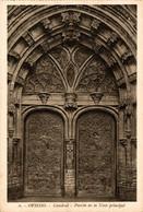 Oviedo  Catedral Puerta De La Nave Principal   ASTURIAS  ESPAÑA - Asturias (Oviedo)