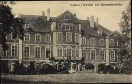 CPA Hartmannswiller Hartmannsweiler Elsass Haut Rhin, Schloss Ollweiler, Außenansicht - Sonstige Gemeinden