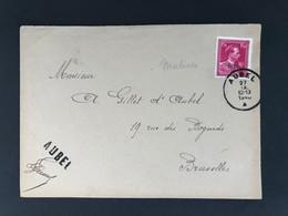 Briefomslag 1f50 AUBEL 27 IX 12-13 1940 - 1946 -10%