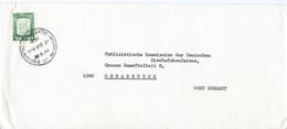 Israel Brief Uit 1968 (782) - Cartas
