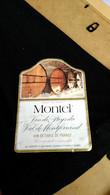 Etiquette De Vin - Montel Vin De Pays Du Val De Montferrand. - Vino Tinto