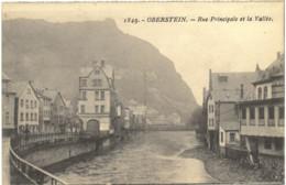Cp OBERSTEIN - Rue Principale Et La Vallée N° 1849 - Idar Oberstein