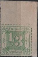 Allemagne Thurn Et Taxis Michel 36 (Yvert 27) * 1/3 Coin De Feuille Avec Un Tiret Manquant - Tour Et Taxis