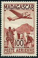 Madagascar 1944 Unidentified Plane Avion Non Identifié - Airplanes