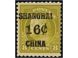CHINA: UNITED STATES OFFICES - Chine (Shanghai)