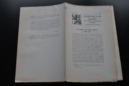 NAMURCUM SOCIETE ARCHEOLOGIQUE DE NAMUR N°3 1952 Régionalisme Dignitaires Du Chapitre De Ciney Notice Paroisse De Tevin - Belgique