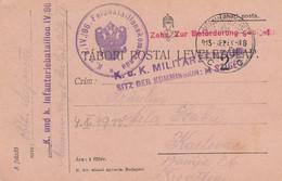 Romania Austria Feldpost Stationery Sent From Maramarossziget To Karlovac Croatia 1915 Censored - 1. Weltkrieg (Briefe)