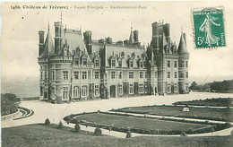 CPA - CHATEAU DE TRÉVAREZ - FACADE PRINCIPALE - CHATEAUNEUF-DU-FAOU - Châteauneuf-du-Faou