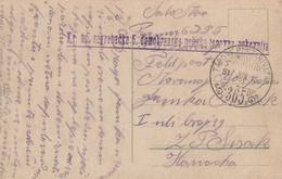 Austria Croatia Feldpost FP 365 Kr.Ugarska Zagrebacka 6 Domobranska Poljska Topovna Pukovnija 1917 - Croatia
