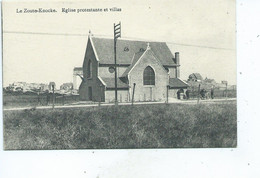 Knokke Eglise Protestante Et Villas - Knokke