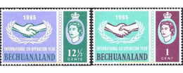 Ref. 627727 * MNH * - BECHUANALAND. 1965. INTERNATIONAL COOPERATION . COOPERACION INTERNACIONAL - Ohne Zuordnung
