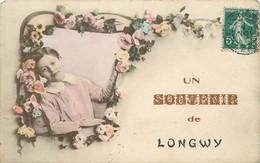 LONGWY - Un Souvenir, Carte Fantaisie. - Longwy