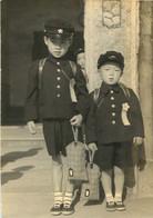 JEUNES GARCONS JAPONAIS  PHOTO ORIGINALE 12 X 8.50 CM - Persone Anonimi