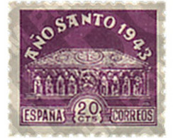 Ref. 209022 * MNH * - SPAIN. 1943. COMPOSTELA HOLY YEAR . AÑO SANTO COMPOSTELANO - Unclassified