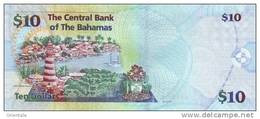BAHAMAS P. 73A 10 D 2009 UNC - Bahamas