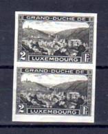 Luxembourg 1935, Exposition Philatélique D'Esch-sur-Alzette, Paire 274*, Cote 14 € - Other
