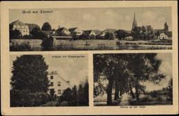 CPA Zündorf Köln Am Rhein, Kloster Mit Klostergarten, Inselpartie, Kirche Und Wohnhäuser - Andere