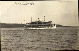 CPA Dampfer, Unbekannt, 04.07.1926 - Unclassified