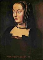 Histoire - Peinture - Portrait - Anne De Bretagne - Femme De Charles VIll Puis De Louis XII - Carte Neuve - CPM - Voir S - Historia
