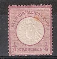 Allemagne Empire Michel 16 (Yvert  16) * Aigle En Relief Grand écusson - Neufs