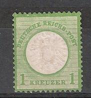 Allemagne Empire Michel 23 (Yvert  20) * Aigle En Relief Grand écusson - Neufs