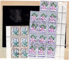 Pli De Douane 260 Paris 22/7/1967 Taxe Dédouanement MULTIPLE Pour 43 Envois 25,80F Par Blocs De 14 Du 1f Et De 6 Du 0,30 - 1960-.... Briefe & Dokumente