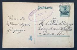Postkaart 5c - GENAPPE - Uberwachungsstelle Ottignies Freigegeben - [OC1/25] Gen.reg.