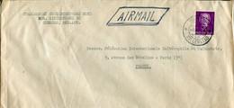Antille Olandesi (1954) - Aerogramma Per La Francia - Niederländische Antillen, Curaçao, Aruba