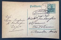 Postkaart 5c - ENGIS - Ctr Militarisch Uberwachungsstelle Ottignies Luttich - [OC1/25] Gen.reg.