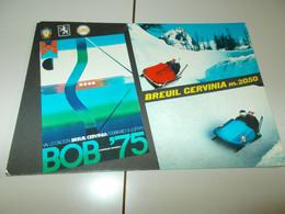 B777  Breuil Cervinia Bob Aosta Viaggiata - Otras Ciudades