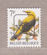 PRE830P6a** Wielewaal / Loriot,postfris Zonder Scharnier. - Typos 1986-..(Oiseaux)