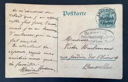 Postkaart 5c - ANGLEUR - Ctr Militarisch Uberwachungsstelle Ottignies Luttich - [OC1/25] Gen.reg.