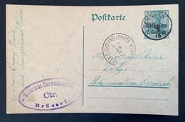 Postkaart 5c - TERNATH - Militarisch Uberwachungsstelle Ctr Bruxelles - [OC1/25] Gen.reg.