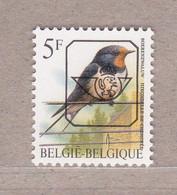 PRE827P6a** Boerenzwaluw / Hirondelle De Cheminee,postfris Zonder Scharnier. - Typos 1986-..(Oiseaux)