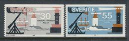 Sweden 1969 Facit # 679-680. 300th Anniv. Of Swedish Lighthouise Service,  MNH (**) - Ungebraucht