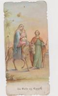 ANCIENNE PETITE ESTAMPE RELIGIEUSE COULEUR ,LA FUITE EN EGYPTE - Religion & Esotérisme