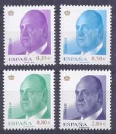Spain 2011. Juan Carlos I Ed 4633-36  (**) - 2011-... Nuevos & Fijasellos