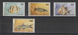 Togo 1987 Poissons 1220-1223 4 Val ** MNH - Togo (1960-...)