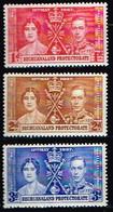 BECHUANALAND / Neufs**/MNH**/ 1937 - Couronnement Georges Vi / YVT N°62/64 - MI N°98/100 - 1885-1964 Herrschaft Von Bechuanaland