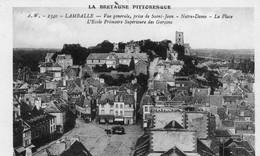 LAMBALLE - Vue Générale, Prise De Saint-Jean - 2 Scannes Voir Verso - Lamballe
