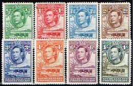 BECHUANALAND / Neufs**/MNH**/ 1938 - Série Courante Georges VI / YVT N°65/72 - MI N°101/108 - 1885-1964 Herrschaft Von Bechuanaland