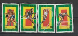 Togo 1983 JO Los Angeles PA 486-489 4 Val ** MNH - Togo (1960-...)