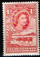 BECHUANALAND / Neufs**/MNH**/ 1954/58 - Série Courante Elizabeth II / YVT N°94 - MI N°130 - 1885-1964 Herrschaft Von Bechuanaland