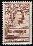 BECHUANALAND / Neufs**/MNH**/ 1954/58 - Série Courante Elizabeth II / YVT N°95 - MI N°131 - 1885-1964 Herrschaft Von Bechuanaland
